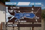 Lake Viedma still to pass then we get there