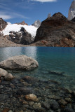 Mount Fitz Roy - the glacial water is SO clear!