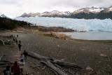 Perito Moreno glacier is located in the Los Glaciares National Park in the south west of Santa Cruz province, Argentina
