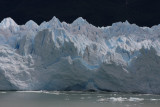 ice breaking off Moreno Glacier 1/4