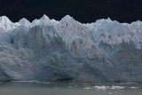 ice breaking off Moreno Glacier 2/4