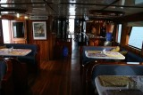 our boat from inside