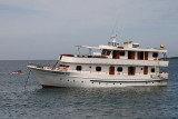 this is the boat we were supposed to be on initially