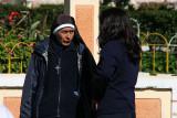 local nun in Aloasi, Ecuador