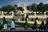 schoolchildren in Aloasi, Ecuador