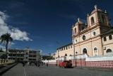 town of Aloasi in central Ecuador