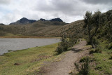 walk around Laguna de Limpiopungo in Cotopaxi National Park at an altitude of 3800 meters!
