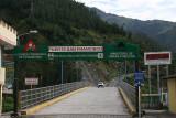 Baños - bridge for evacuation in case Tungurahua erupts