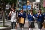 Baños: people