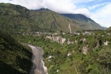 Baños is located on the Pastaza River in the Amazon River basin