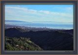 Palos Verdes - L Catalina Island - R Sailboats - everywhere Me - 1,200' Up From Sea Level You - ??