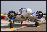 Beech C-45H Expeditor Grimes Flying Lab