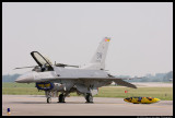 F-16 Fighting Falcon and Travel Pod