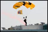 Golden Knights Flag Jump