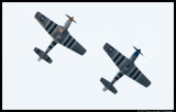 P-51C and P-51D Mustangs