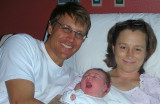 Kristina with Mom and Dad