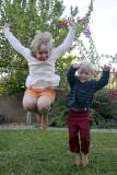 Cousins Jumping