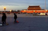End of the day in Tiananmen Square- Omar
