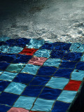 mosaic in water
