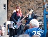Bass player Paula O'Rourke.