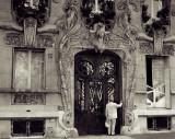 Doorway at No. 29 Avenue Rapp, PARIS