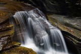 Gorge Waterfall at Robert Treman Park