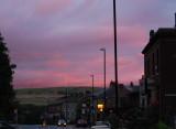 Lees Road sunset