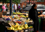 Fruit stall Oldham Market