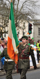 Carrying the Tricolour