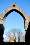 Archway, Dominican Priory, Carlingford.  14th century.