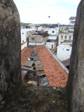 local market as seen from Lamu Fort