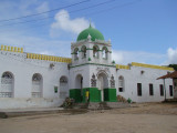 one of the many mosques in Lamu Town