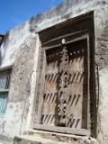 very old carved door