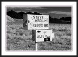 Steve Medlin mailbox - Rachel, NV