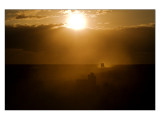 Dust in Amboseli National Park