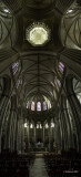 Inside Coutances Cathedral, Normandy, France