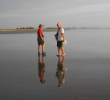 5_8_Glenn and Robby walkiing the beach.JPG