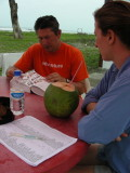 7_2_Robby and Kim tallying up the days birdlist.JPG