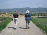 Igor and Richard, Slovenian/Croatian salt flats