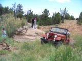 A jeep tripin the back country