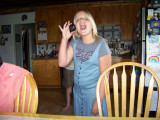 Kaelyn shows offher new yo-yo