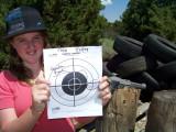 Good shootin' Taya!