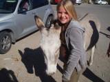 Kaelyn makes a new friend
