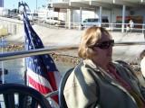 Sue enjoys a river cruise