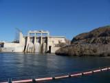 Davis Dam north of Laughlin