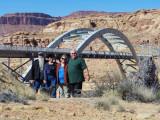 Jim, joy, Sue, FrankThe ColoradoRiver bridge in the background