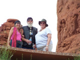 joy, Jim, & Sueat Chapel of the Holy CrossSedona, AZ