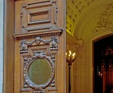 Entrance to the Lotos Club, close up