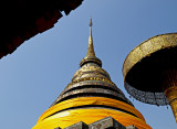 Chedi, close up