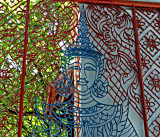 Angel in a gate